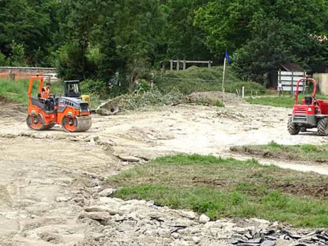 Restructuration du parking du bassin de Saulx et augmentation de la zone naturelle d'expansion de crue